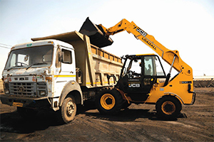 JCB Telescopic Handlers Price India UAT